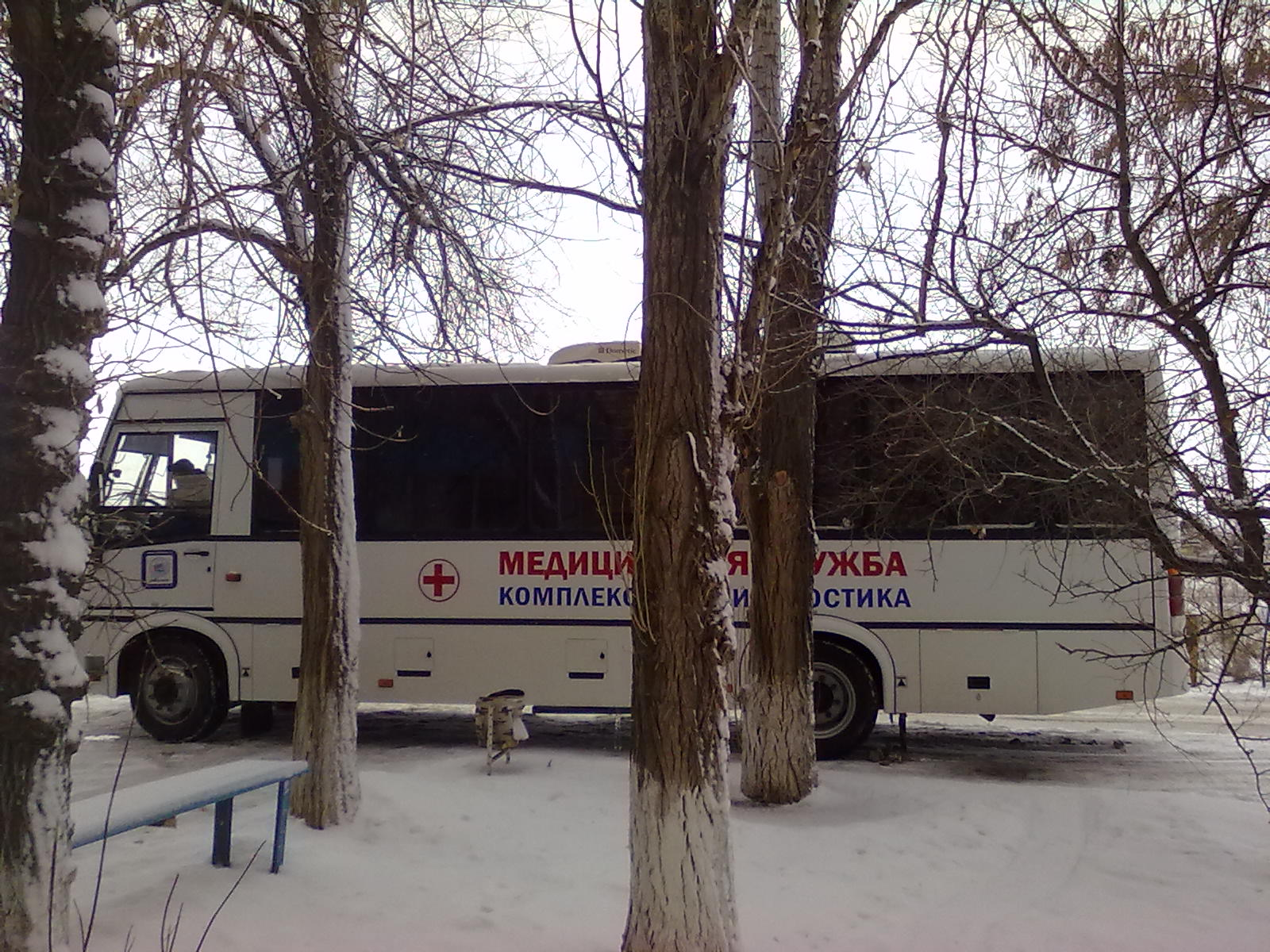 Мобильные врачи проверят здоровье жителей в п. Краснооктябрьский г. Волжского
